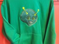 Laughing Alien Hoodie