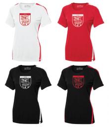 Gilet à Manches Courte pour Femmes Bicolore - Polyester / Ladies Dry-Fit Tshirt