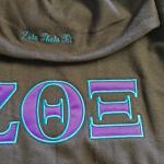 Zeta Theta Xi hoodie