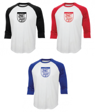 Tshirt Baseball Manches 3/4 - Baseball Tee 3/4 Sleeves